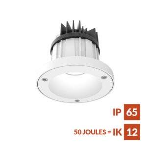 DL86 anti-ligature downlight