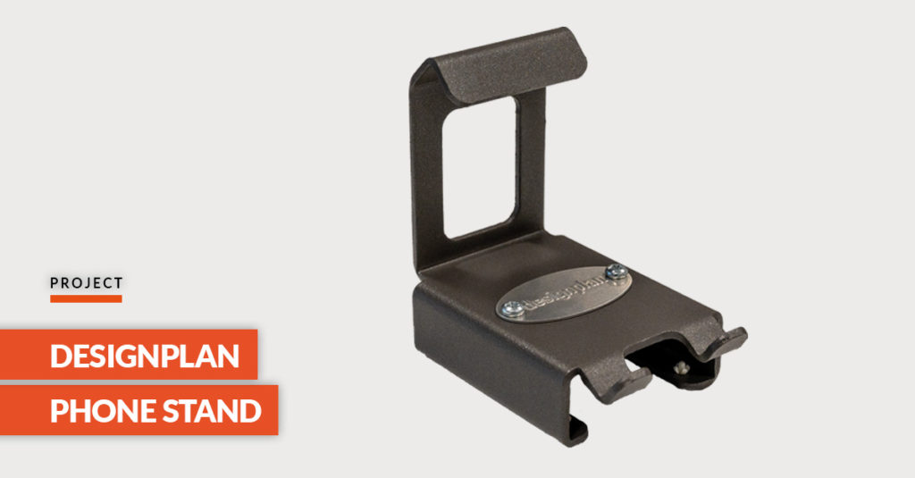 Designplan steel phone stand