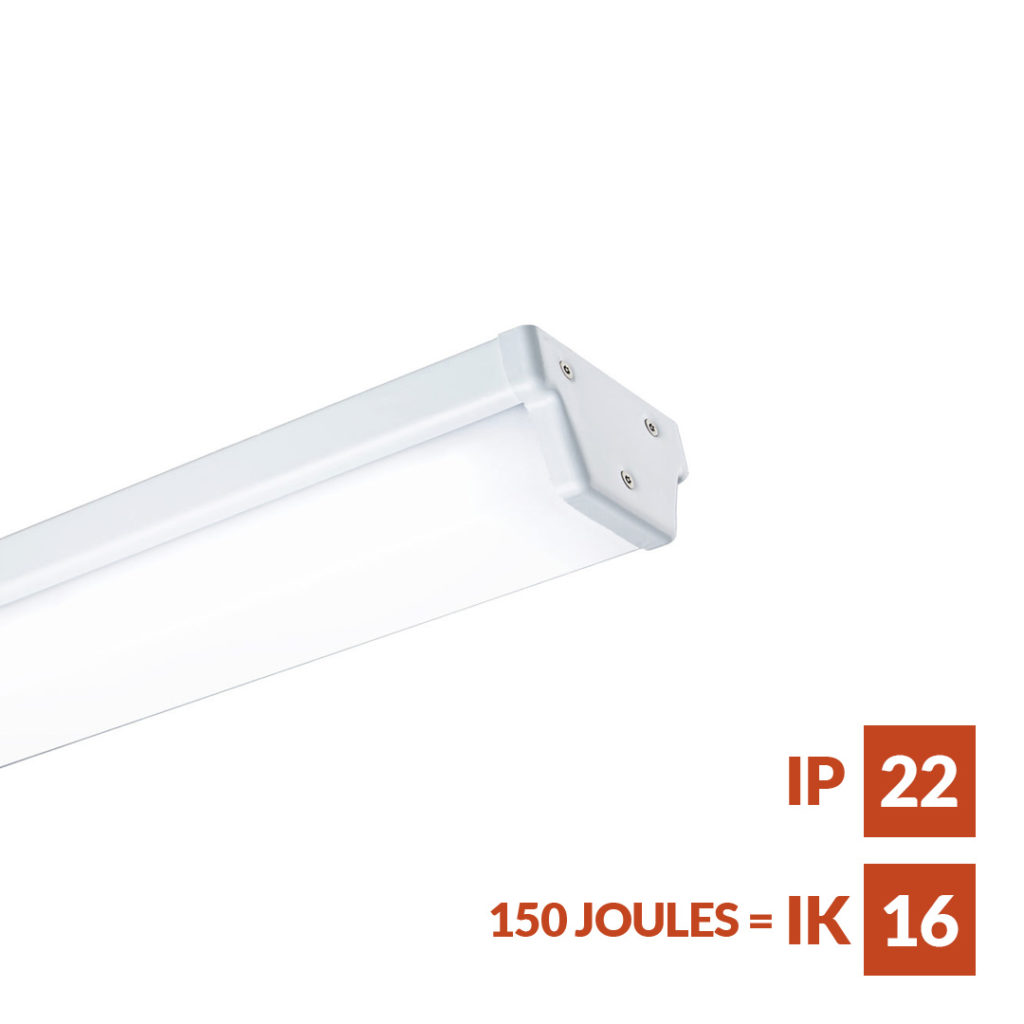 Monitor II robust linear luminaire