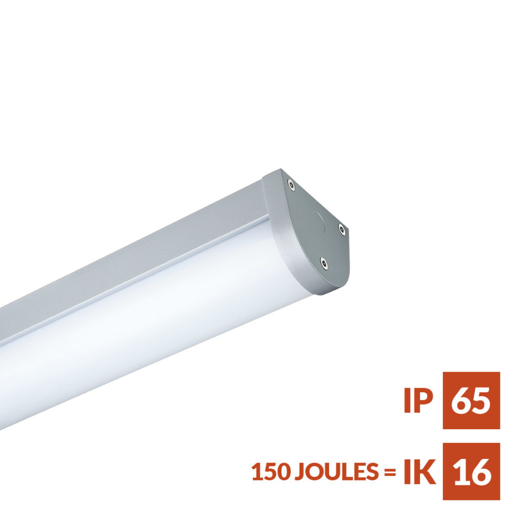 Monitor robust linear Luminaire