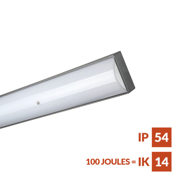 Parkalux Versatile vandal and weather resistant linear fitting