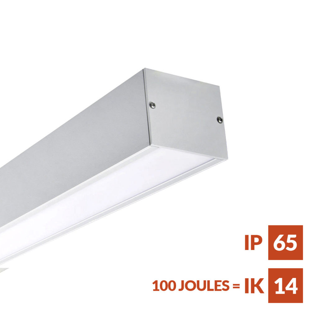 Stromma Robust vandal and weather-resistant IP65 rated modular lighting system