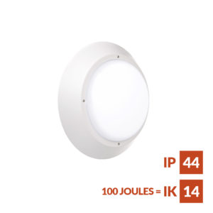 Torino AL anti-ligature Wall or ceiling mounted fitting suitable for secure accommodation