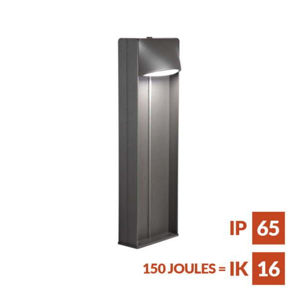 Zelos Beam Weather and vandal resistant LED bollard with impressive light output
